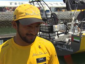 Pre-Leg 8 Interviews with Adil Khalid (Eng)