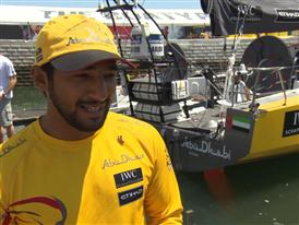 Pre-Leg 8 Interviews with Adil Khalid (ARA)