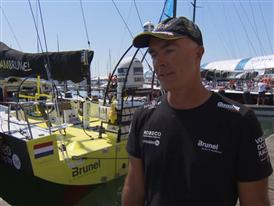 Pre-Leg 8 Interviews with Bouwe Bekking (ENG)