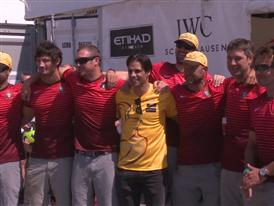 Nuno Gomes sails with Abu Dhabi Ocean Racing in Lisbon's In-Port Race (PORT)