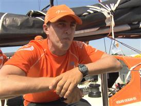 In-Port Race podium Interview with Alberto Bolzan (ITA)