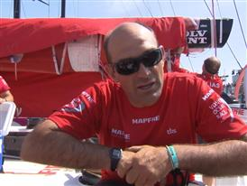 In-Port Race Win Interviews with Xabi Fernandez (BAS)