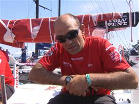 In-Port Race Win Interviews with Xabi Fernandez (ESP)