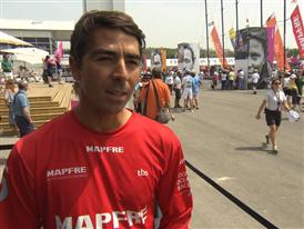 Leg 8 Start Interview with Andre Fonseca (BRA)