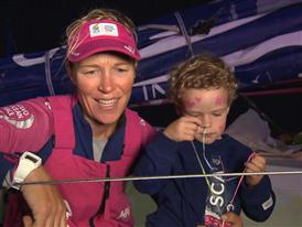 Leg 8 Win Interviews with Carolijn Brouwer (POR)