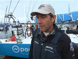 Leg 8 2nd place Interview with Tony Rae (NZL)
