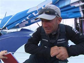Leg 8 2nd place Interviews with Maciel Cicchetti (ARG)