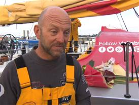 Leg 8 3rd place Interview with Ian Walker (GBR)