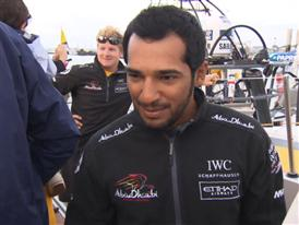 Leg 8 3rd place Interview with Adil Khalid (UAE)