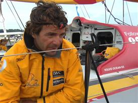 "Leg 8 3rd place Interview with Roberto 'Chuny"" Bermúdez (ESP)"