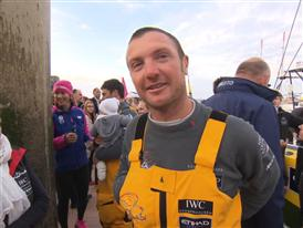 Leg 8 3rd place Interview with Phil Harmer (AUS)