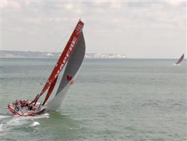 Aerials - The chase to The Hague is gathering momentum in the English channel