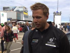 Leg 9 Restart  Interview - Martin Stromberg (SWE)