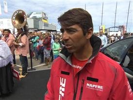 Leg 9 Restart Interview - Andre Fonseca (BRA)