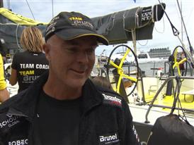Leg 9 Restart Interview - Bouwe Bekking (NED)