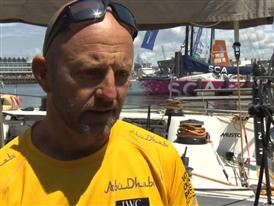 Leg 9 Restart Interview - Ian Walker (GBR)