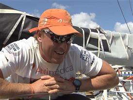 Leg 9 Win Interview - Dave Swete (NZL) - in English