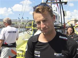 Leg 9 2nd Place Interview - Louis Balcean (BEL) - in Dutch