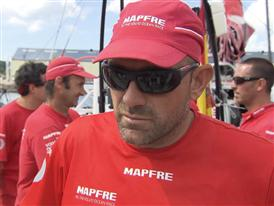 Leg 9 3rd Place Interviews - Xabi Fernandez (ESP) - In Basque