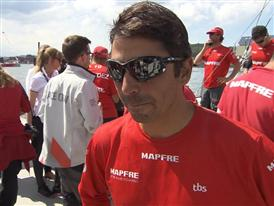 Leg 9 3rd Place Interview - Andre Fonseca (BRA) - in Portuguese