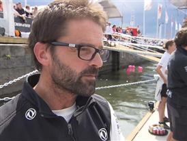 Leg 9 arrival Interview - Pascal Bidegorry (FRA) - in French