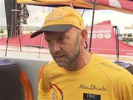 Leg 9 arrival and Volvo Ocean Race Win Interview - Ian Walker (GBR) - in English