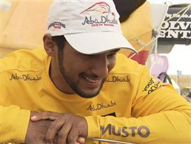 Leg 9 arrival and Volvo Ocean Race Win Interview - Adil Khalid (UAE) - in Arabic