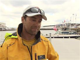 Leg 9 arrival and Volvo Ocean Race Win Interview - Daryl Wislang (NZL) - in English
