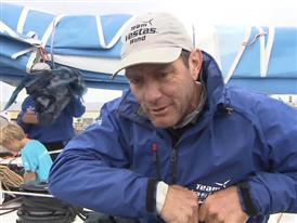 Leg 9 arrival Interview - Tony Rae (NZL)