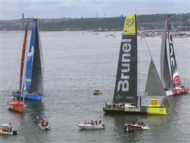 Team Brunel win Gothenburg In-Port battle, Abu Dhabi Ocean Racing, champions of the In-Port Series