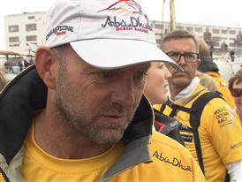 Gothenburg In-Port Race Interview with Ian Walker (GBR)