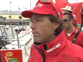 Gothenburg In-Port Race Interview with Iker Martinez (ESP) - in English