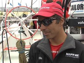 Gothenburg In-Port Race Interview with Andre Fonseca (BRA)