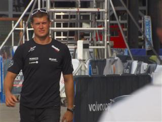 (Lithuanian) Volvo Ocean Race - Pre-In Port Race N°1 Interview with Rokas Milevicius