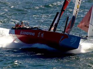 Abu Dhabi Ocean Racing beat Dongfeng Race Team for Leg 1 victory