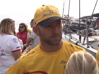 Leg 3 Start Interview with Ian Walker (EN)