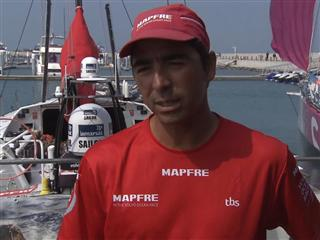 Leg 4 dock interview with Andre Fonseca (BRA)
