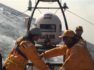 Team Brunel cashing in on bold decision to sail north, but...