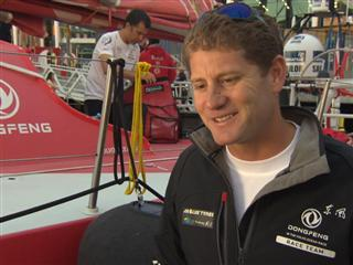 Leg 5 - Dock interviews with Charles Caudrelier (FRA)