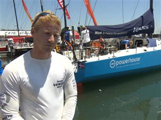 Pre-Leg 8 Interview with Nicolai Sehested (DEN)