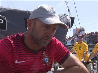 In-Port Race second place Interview with Ian Walker (GBR)
