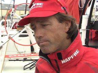 Gothenburg In-Port Race Interview with Iker Martinez (ESP) - in Spanish