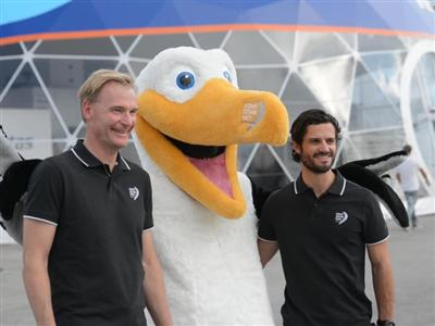 H.R.H. Prince Carl Philip attends Volvo Ocean Race start in Alicante