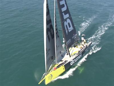 AGENCY FEED - Team Brunel (NED) wins Leg 2 of the Volvo Ocean Race