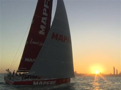 Spanish team, MAPFRE, 4th in Abu Dhabi