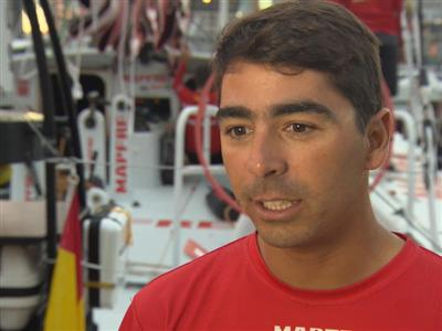 Leg 5 - Dock interview with Andre Fonseca (BRA)