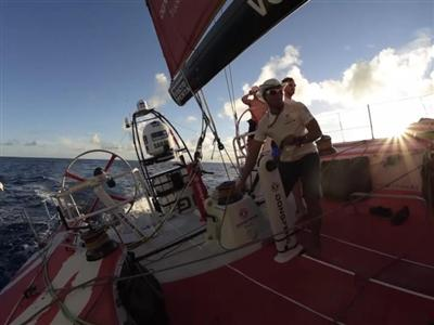 Dongfeng Race Team in the lead, Abu Dhabi at the back: no room for complacency