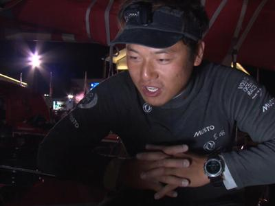 "Leg 6 arrival interview with Chen Jin Hao ""Horace"" (CHN)"