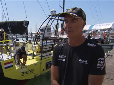 Pre-Leg 8 Interviews with Bouwe Bekking (NED)