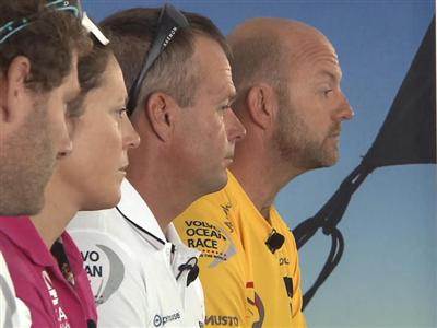 Leg 8 Skippers Press Conference